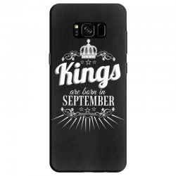 kings are born in september Samsung Galaxy S8 Case | Artistshot