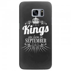kings are born in september Samsung Galaxy S7 Edge Case | Artistshot