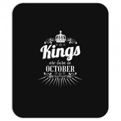 kings are born in october Mousepad | Artistshot