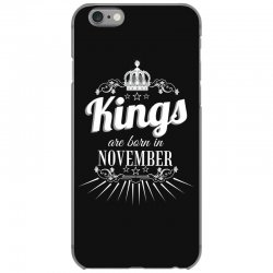 kings are born in november iPhone 6/6s Case | Artistshot