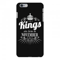 kings are born in november iPhone 6 Plus/6s Plus Case | Artistshot
