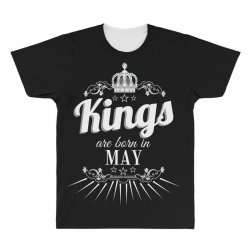 kings are born in may All Over Men's T-shirt | Artistshot