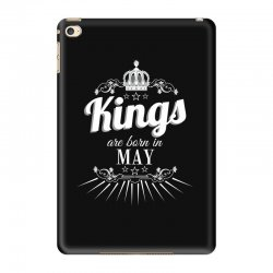 kings are born in may iPad Mini 4 Case | Artistshot