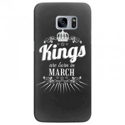 kings are born in march Samsung Galaxy S7 Edge Case | Artistshot