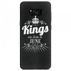 kings are born in june Samsung Galaxy S8 Case | Artistshot
