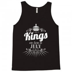 kings are born in july Tank Top | Artistshot