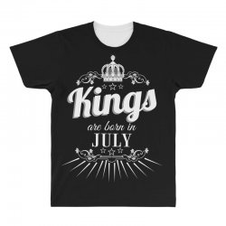 kings are born in july All Over Men's T-shirt | Artistshot