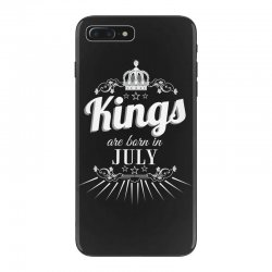 kings are born in july iPhone 7 Plus Case | Artistshot