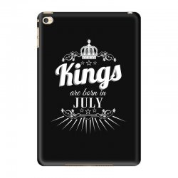 kings are born in july iPad Mini 4 Case | Artistshot