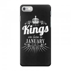 kings are born in january iPhone 7 Case | Artistshot