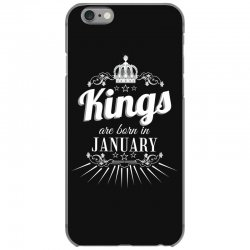 kings are born in january iPhone 6/6s Case | Artistshot
