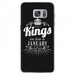 kings are born in january Samsung Galaxy S7 Case | Artistshot