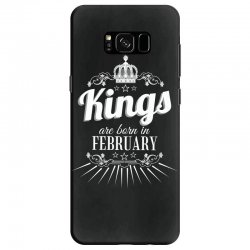 kings are born in february Samsung Galaxy S8 Case | Artistshot