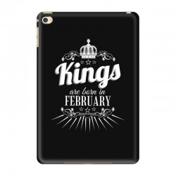 kings are born in february iPad Mini 4 Case | Artistshot