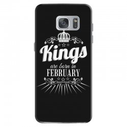 kings are born in february Samsung Galaxy S7 Case | Artistshot