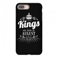 kings are born in august iPhone 8 Plus Case | Artistshot