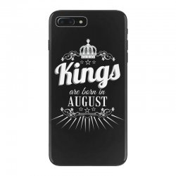 kings are born in august iPhone 7 Plus Case | Artistshot