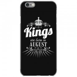 kings are born in august iPhone 6/6s Case | Artistshot