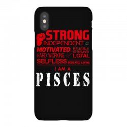 i'am an pisces iPhoneX Case | Artistshot