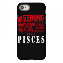 i'am an pisces iPhone 8 Case | Artistshot