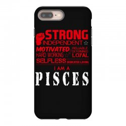 i'am an pisces iPhone 8 Plus Case | Artistshot