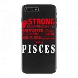 i'am an pisces iPhone 7 Plus Case | Artistshot