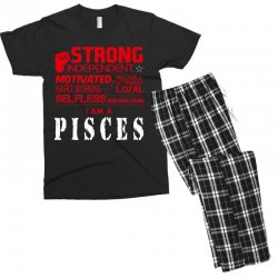 i'am an pisces Men's T-shirt Pajama Set | Artistshot