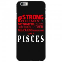 i'am an pisces iPhone 6/6s Case | Artistshot