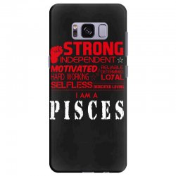 i'am an pisces Samsung Galaxy S8 Plus Case | Artistshot