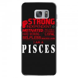i'am an pisces Samsung Galaxy S7 Case | Artistshot