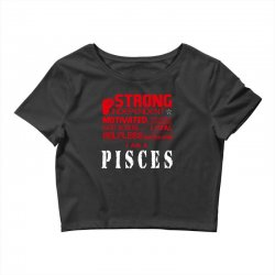 i'am an pisces Crop Top | Artistshot