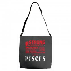 i'am an pisces Adjustable Strap Totes | Artistshot