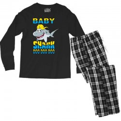 Baby Shark Doo Doo Doo Men's Long Sleeve Pajama Set | Artistshot