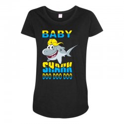 Baby Shark Doo Doo Doo Maternity Scoop Neck T-shirt | Artistshot