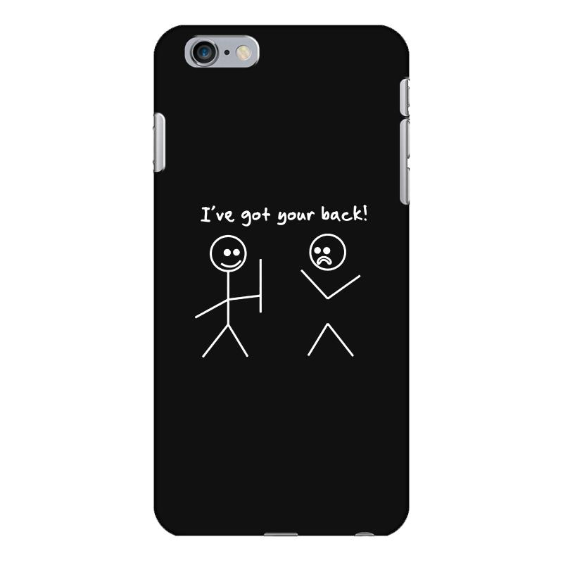 timeless design ce54f 40d50 I Got Your Back Stick Figure Funny Iphone 6 Plus/6s Plus Case. By Artistshot