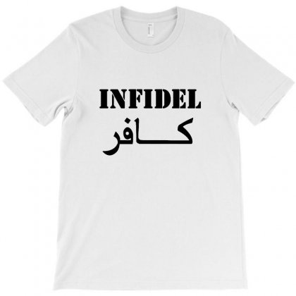 Infidel T Shirt Vintage Military T-shirt Designed By Tee Shop