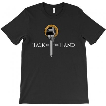 Parody Talk To The Hand T-shirt Designed By Thecindeta