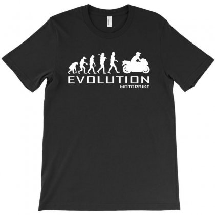 Motorcycle Evolution T-shirt Designed By Thecindeta