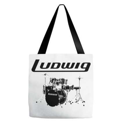 Ludwig Drum Tote Bags Designed By Thecindeta