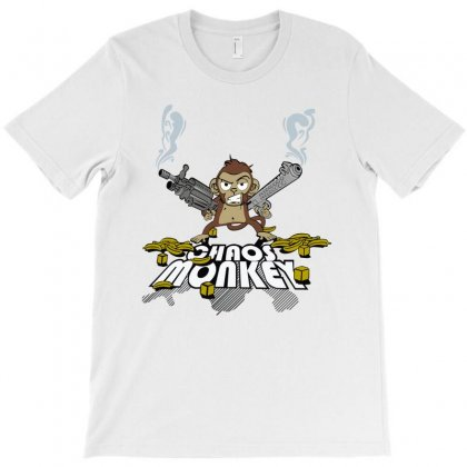 Cool Graphic Chaos Monkey T-shirt Designed By Thecindeta