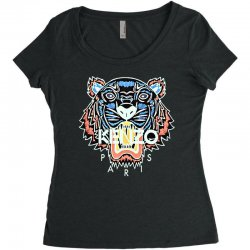 Custom Kenzo Paris Tiger T-shirt By Blqs Apparel - Artistshot a2109058cc