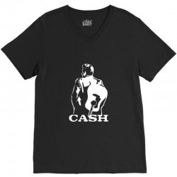 johnny cash guitar V-Neck Tee | Artistshot