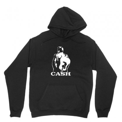 Johnny Cash Guitar Unisex Hoodie Designed By Teeshop