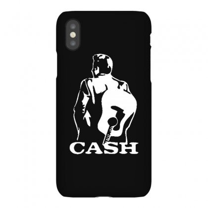 Johnny Cash Guitar Iphonex Case Designed By Teeshop