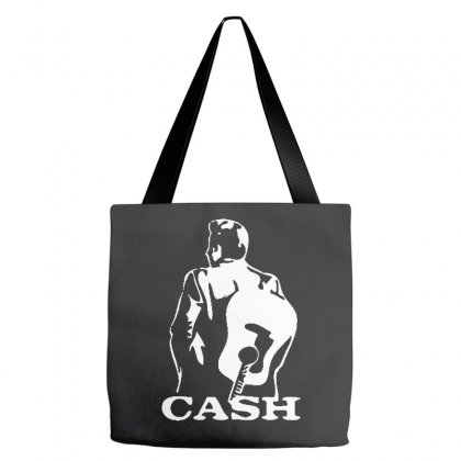Johnny Cash Guitar Tote Bags Designed By Teeshop