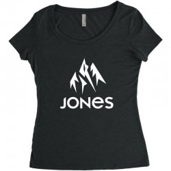 jones snowboard Women's Triblend Scoop T-shirt | Artistshot
