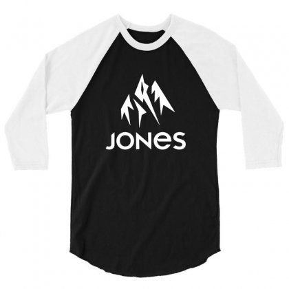 Jones Snowboard 3/4 Sleeve Shirt Designed By Teeshop