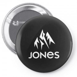 jones snowboard Pin-back button | Artistshot