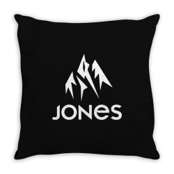 jones snowboard Throw Pillow | Artistshot
