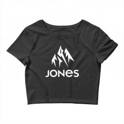 jones snowboard Crop Top | Artistshot
